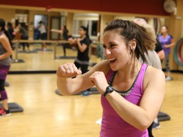 Group Ex Zumba Step