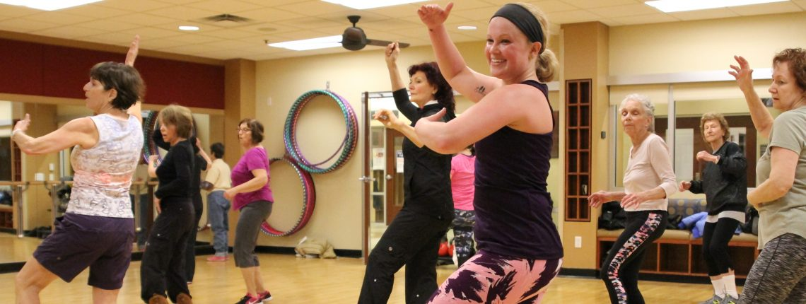 Haley Zumba Group Exercise