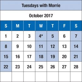 NJT Schedules for Website_v2-1 Tuesdays with Morrie