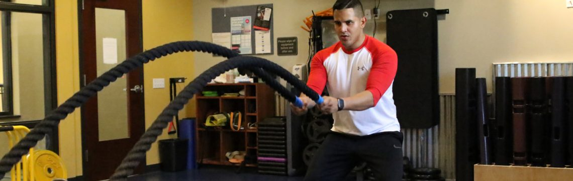 battle ropes personal training
