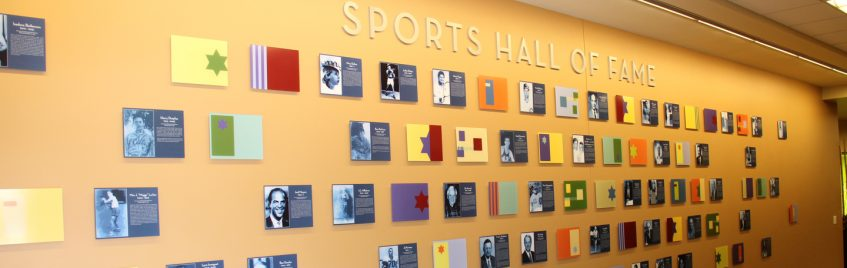 Sports Hall of Fame Header